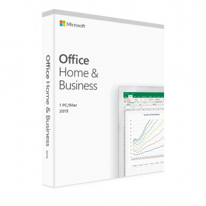 Microsoft Office Home and Business 2019 - licens - 1 PC/Mac
