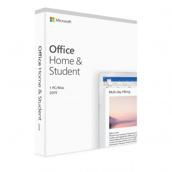 Microsoft Office Home and Student 2019 - licens - 1 PC/Mac