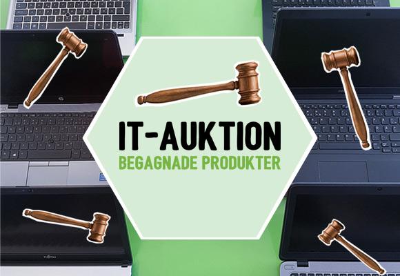Förnyad IT-Auktion  Börjar på fredag kl 9!