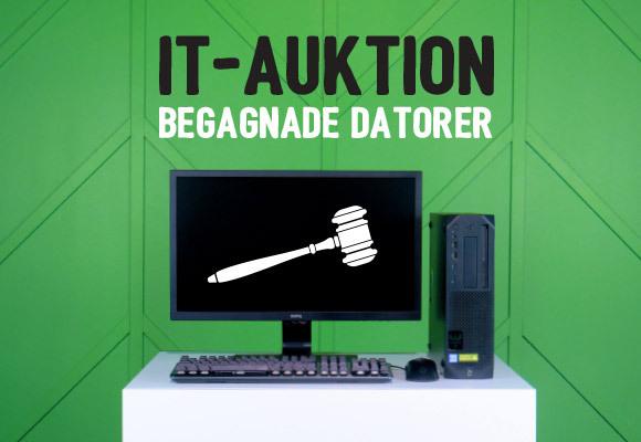 Så här köper du begagnade datorer på vår IT-auktion