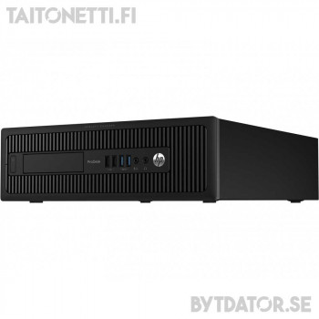 HP ProDesk 600 G1 SFF - G3220/8/500/RX550-4GB/W10/A2