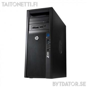 Hp Z420 Xeon E5-1620/16GB/256SSD/K4000/W10/A1