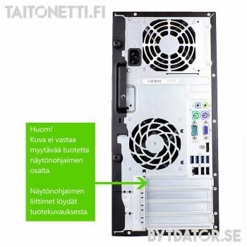 HP Compaq Pro 6300 - i5-3470/8/240SSD+500/GTX-1050ti-4GB/W10/A2